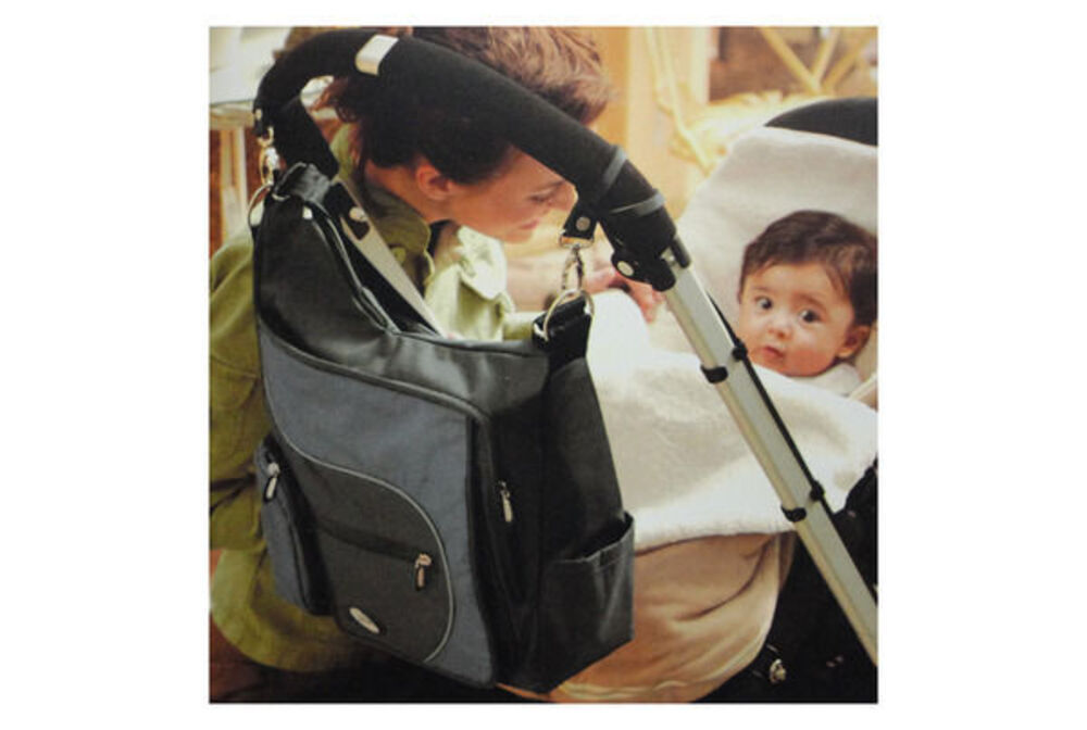 jj cole jmbsg nursery nappy bag attachable to stroller pram w changing mat online 247deals. Black Bedroom Furniture Sets. Home Design Ideas