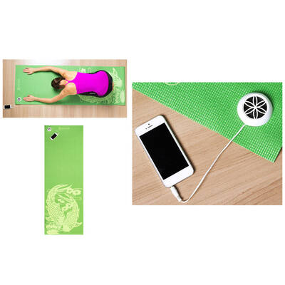 Gaiam Fitness/Exercise/Yoga Mat W/Speaker & Au