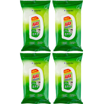 144pk Ajax Spray n' Wipe Stone Safe Cleaning Wipes