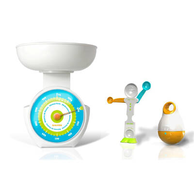 Salter Children Kids Kitchen Accessories Mechanica