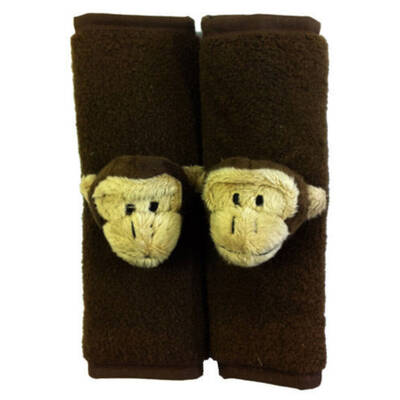 Monkey Car Seat Strap Cover Pal