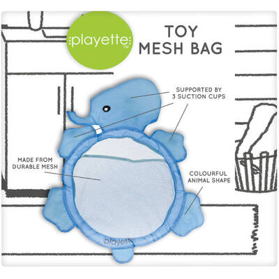 Baby Kids Bath Toys Storage Suction Bag Bathroom Stuff Organiser Tidy Net Mesh
