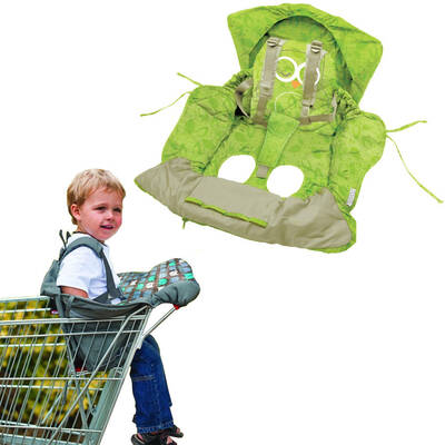 Green Owl Shopping Trolley/High Chair Cover Clean/Comfortable Baby/Toddler/Child