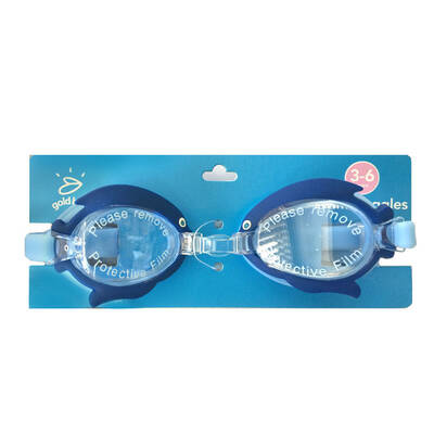 Blue Kid Swimming Goggles 3-6yr
