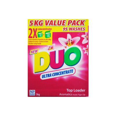 Duo Ultra Concentrate Laundry Top Loader Washing M