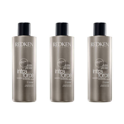 3x 145ml Redken Intra Force Thickening Hair Loss Treatment Toner Thinning Hair