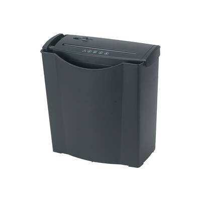 Strip Cut Paper Shredder 5-6 Sheet Capacity 15L Bin For Home/Business/Office
