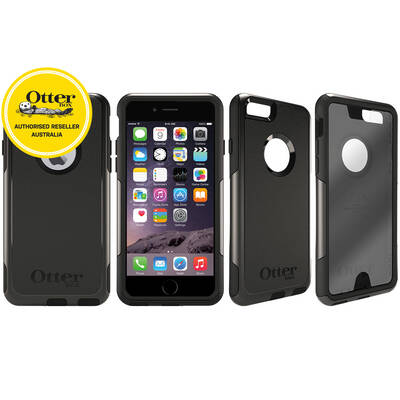 Otterbox Black Commuter Heavy Duty Tough Case Cover/Bump Shock For Iphone 6/6S