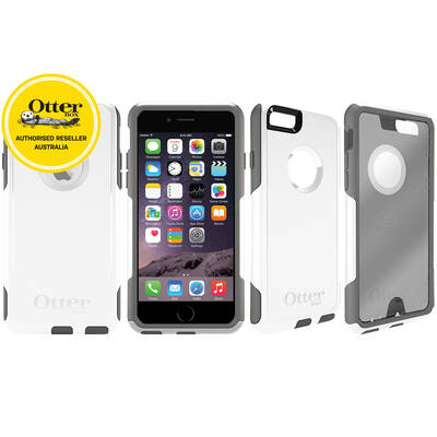 Otterbox White Commuter Heavy Duty Tough Case Cover/Bump Shock For Iphone 6/6S