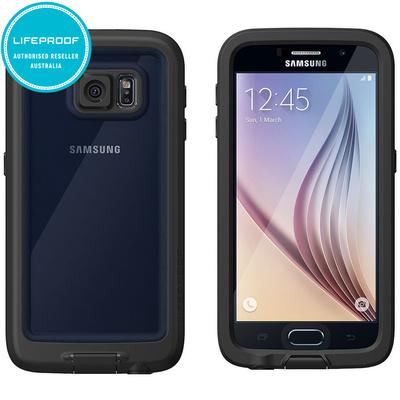 Genuine Black Lifeproof Fre Samsung Galaxy S6 Wate