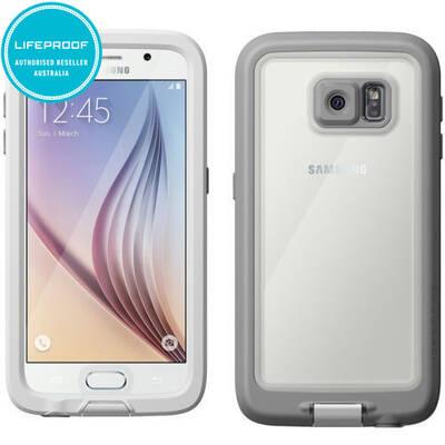 Genuine White Lifeproof Fre Samsung Galaxy S6 Wate