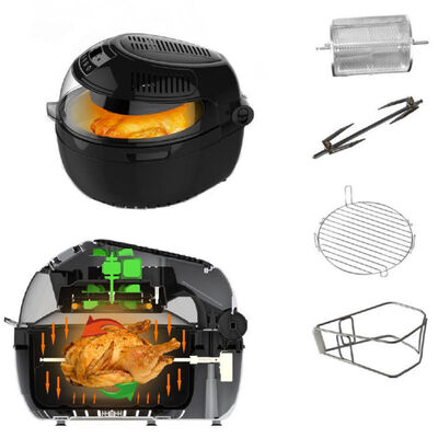 Digital Air Fryer Large 10L With Food Rotation