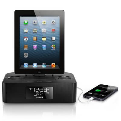 PHILIPS AJ7050D Alarm Clock Radio Docking Speaker