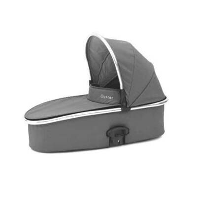 Oyster Max Carrycot Grey