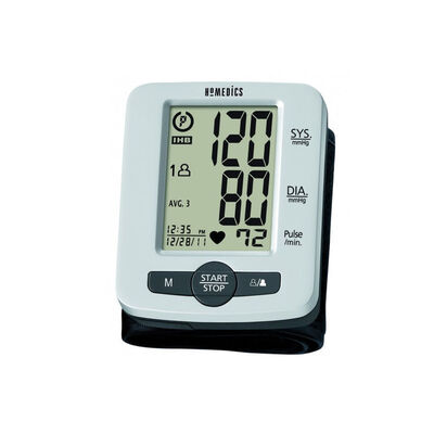Homedics Bpw-520 Digital Automatic Portable Wrist Blood Pressure Monitor/60 Mem