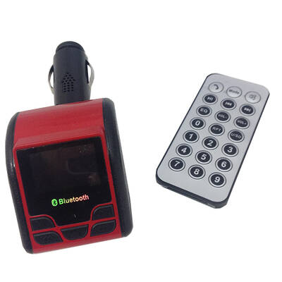 FM Transmitter Cigarette Socket USB/SD w/Remote fo