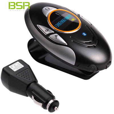 Bt8110 Bsr Mountable Bluetooth Car Kit Charger Handsfree Phone Calls/Caller ID