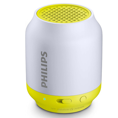 Philips Bt50L Wireless Portable Speaker 3.5Mm Audio In/Bluetooth Iphone/Android