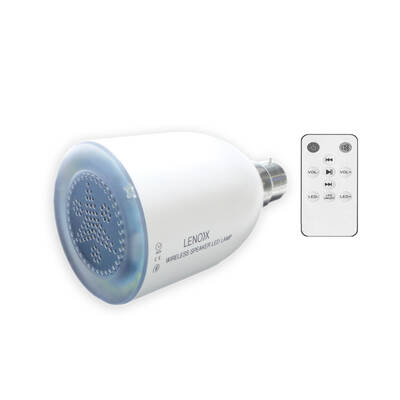 Wireless Bluetooth Speaker & Led Light Bulb In