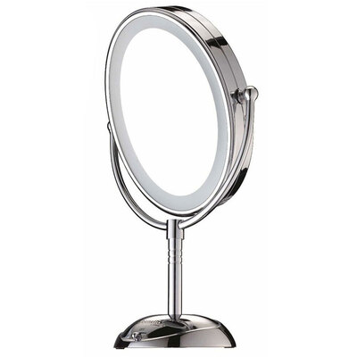 Conair Cbe51Leda Mirror Cord Cordless Double Sided Illuminated Led Lighted