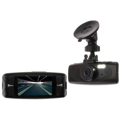 "Doss Cd2Fhd Dvr Car Crash In Dash Camera Record Full Hd 1080P 2.7"" Lcd Crashcam"