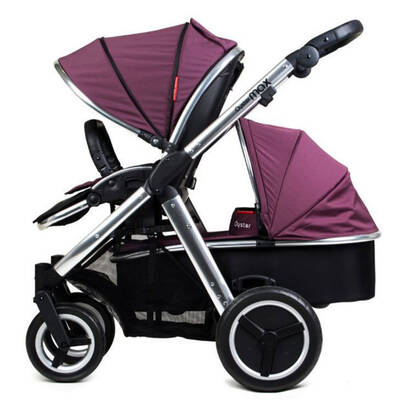 Oyster Max Stroller And Carrycot Purple