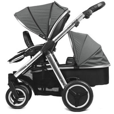 Oyster Max Stroller and Carrycot Grey