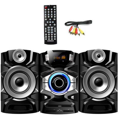 Lenoxx Hi-Fi AV DVD/CD/USB/Player/Mic/Aux/FM Radio
