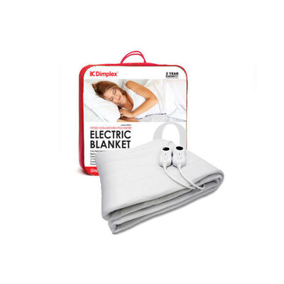 Dimplex Washable Electric Blanket Fitted Queen Siz