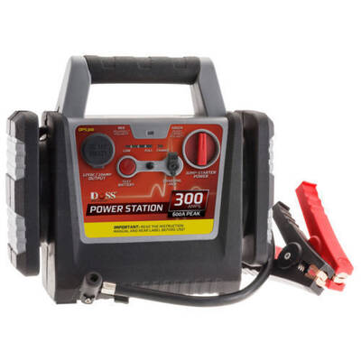Portable Car Rechargeable Jump Starter 300A Power Station/Air Compressor/Battery
