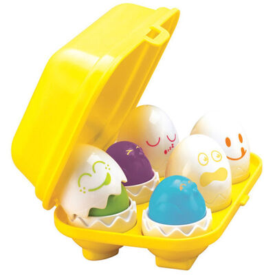 Tomy Hide N Squeak Eggs Learning Activity Game/Toy for Baby/Infant/Toddler/Child