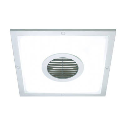 Heller 250Mm 2 In 1 Ceiling Light & Exhaust Fa