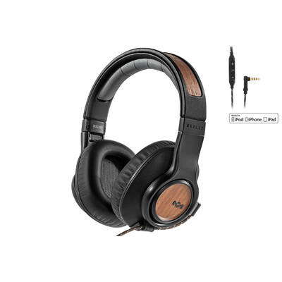 House Of Marley Midnight Legend Active Noise Cancelling Headphones/Headset/Mic