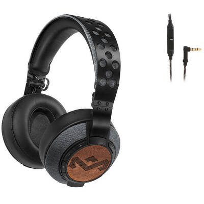 Liberate Xl Foldable Bluetooth Wireless  and Wired Over-Ear Headphones