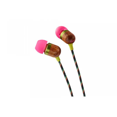 House Of Marley Em-Je000-Li Smile Jamaica In-Ear Headphones Lily - Pink