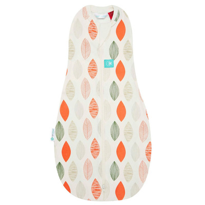 Blush Leaf Ergo Cocoon Baby Swaddle Sleeping Bag 0-3m 1 TOG