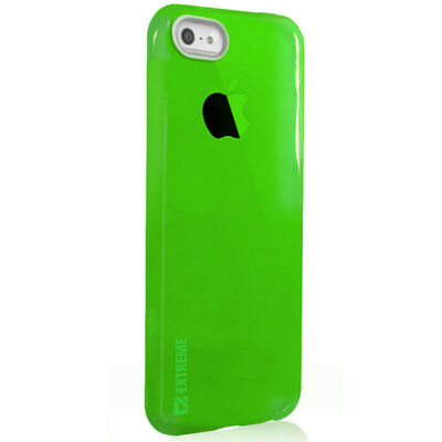 Slim Green Transparent Flexible Shock Resistant Cover Case For Iphone 6 & 6S 4.7""