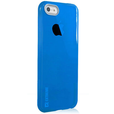 Slim Blue Transparent Flexible Shock Resistant Cover Case For Iphone 6 & 6S 4.7""