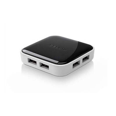 Belkin F4U022Vau Hi-Speed Usb 2.0 7 Port 7-Port Hub Powered Desktop For Pc / Mac