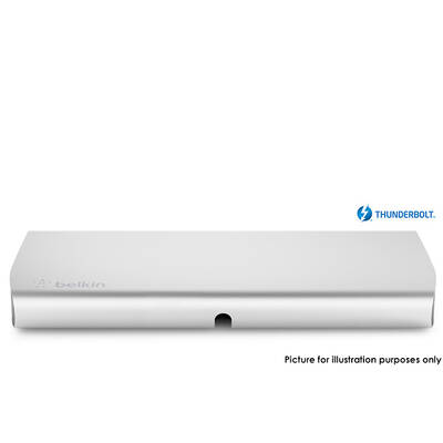 Belkin F4U055Au Thunderbolt Express Dock For Macbook  Air & Macbook Pro - Thunder Bolt