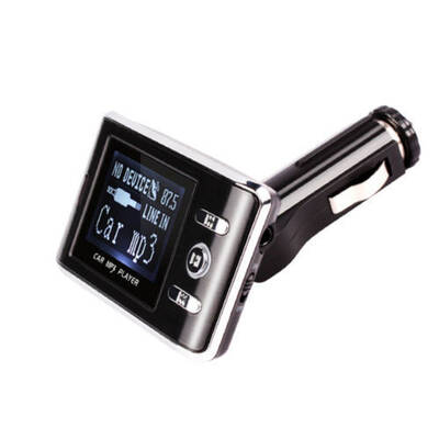 Fm Transmitter Cigarette Socket Play Music Car Rad
