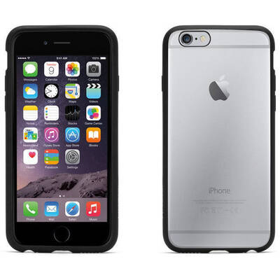 Reveal Clear/Black Case for iPhone 6/6S
