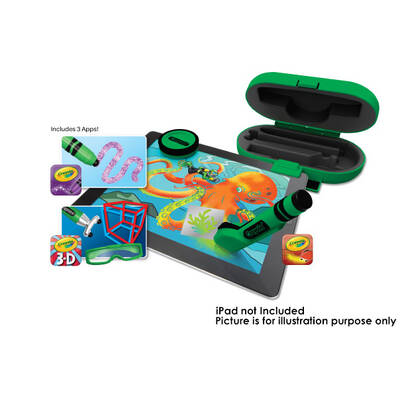 Griffin Crayola Digitools Deluxe Pack For Apple Ipad | App + Tools | Gc35975