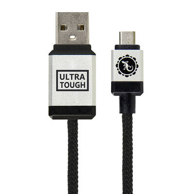 Ultra Tough Micro-USB to USB Cable 1.5m - Black