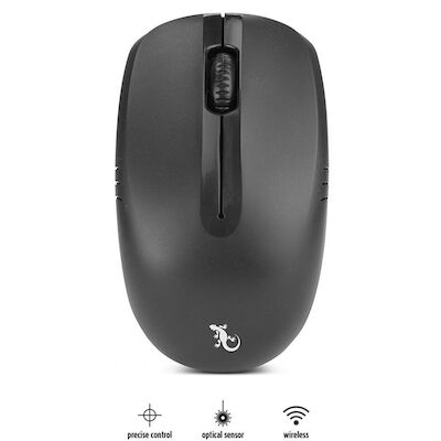 Gecko 3 Button Wireless Optical Mouse