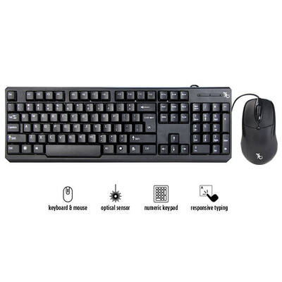 Gecko Wired Keyboard and Mouse Bundle