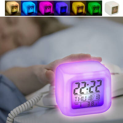 Colour Changing Digital Alarm Clock