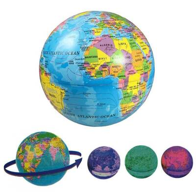 Electric LED Light Self Rotating World Globe