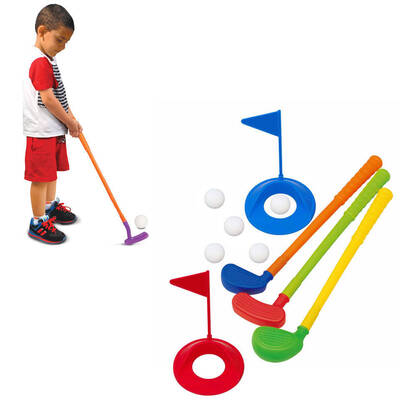 10pc Golf Set Toy for Kids