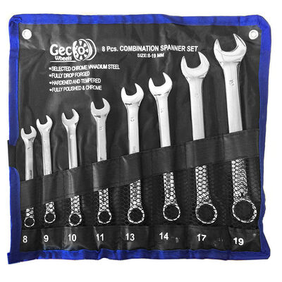 8pc Heavy Duty Wrench Set